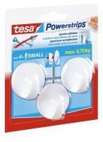 Tesa Powerstrips Haken Small Rund weiss, max. 1Kg