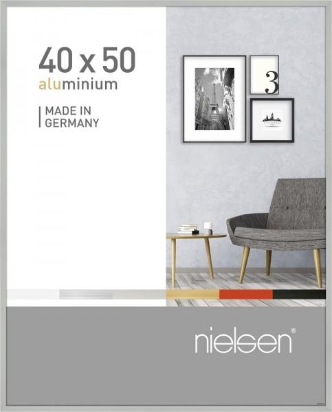 Nielsen Bilderrahmen silber 40x50cm