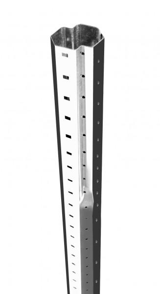Teleskop-Stahlrohrwelle Achtkantwelle 60 mm x 150 cm