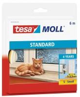 Tesamoll Standard I-Profil 6 m weiss, für Spalten 1-3,5 mm