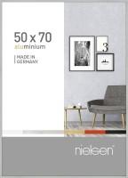 Nielsen Bilderrahmen Pixel silber 50x70cm