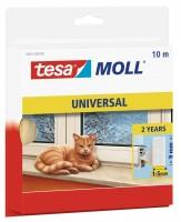 Tesamoll Universal Schaumstoff 10 m x 9 mm weiss, für Spalten 1-5 mm