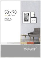 Nielsen Bilderrahmen Pixel weiß 50x70cm