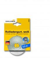 Rollladengurt 23 mm/4,5 m weiss