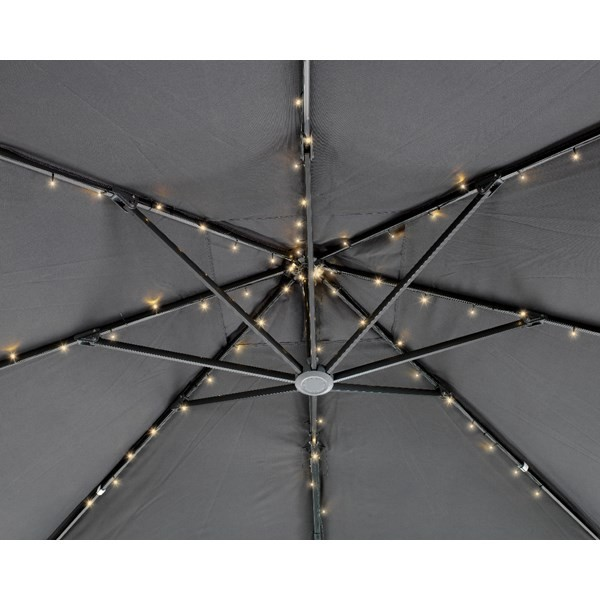 LED-Lichterkette für Sonnenschirme