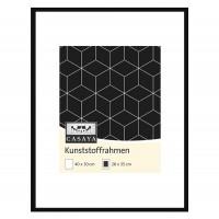 Casaya Kunststoffrahmen 40x50cm schwarz
