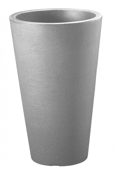 Pflanzvase Capri ca. D.35xH55 cm steingrau
