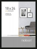 Nielsen Bilderrahmen Pixel schwarz 18x24cm