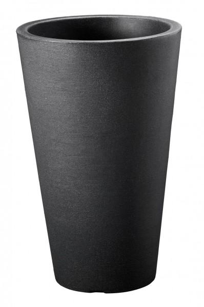 Pflanzvase Capri D.35xH55 cm anthrazit rund