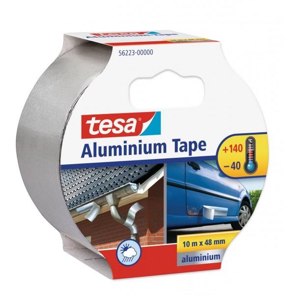 Tesa Aluminuim Tape 10 m x 48 mm silber