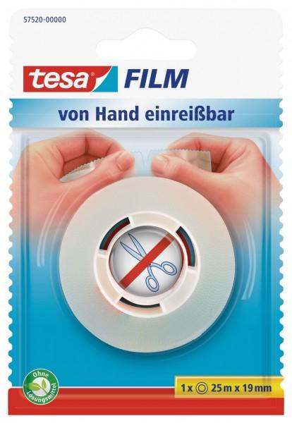 Tesafilm von Hand einreissbar 25 m x 19 mm