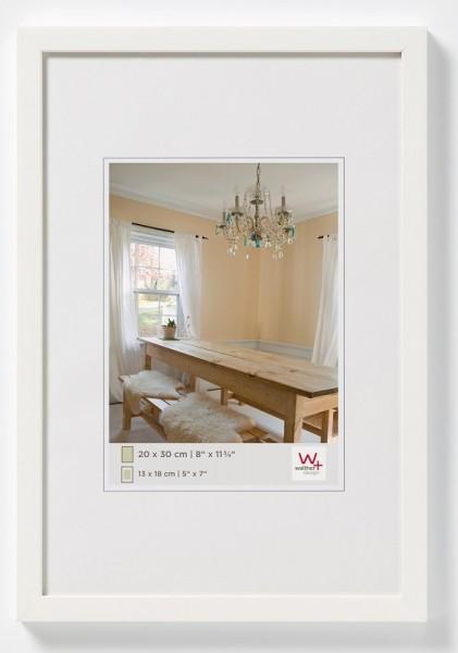 walther design Holzbilderrahmen Peppers Polarweiss 13x18cm