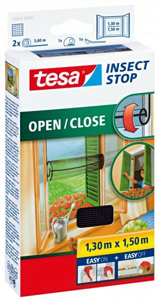 tesa insect stop comfort Fliegengitter Öffnen Schließen 1,3x1,5m anthrazit