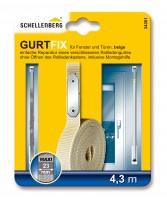 Gurtband Reparaturset 23 mm/4,3 m beige