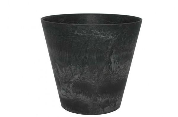 Artstone Topf Claire 37cm schwarz