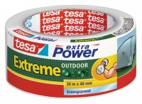 Tesa Extra Power Extreme Outdoor 20 m x 48 mm transparent