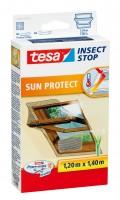 Tesa Fliegengitter anthrazit 120x140cm inkl. Sonnenschutz für Dachfenster