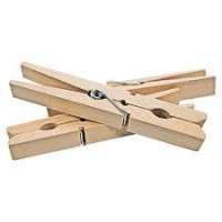 Holzwäscheklammern 50er
