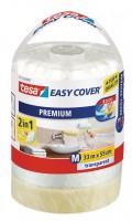 Tesa Easy Cover Premium M - Abdeckfolie 33 m x 550 mm Nachfüllrolle