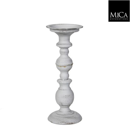 Mica Kerzenständer Tripoli weiß 29cm