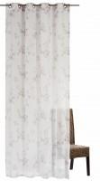 Elbesrdrucke Ösenschal Kyoto 140x255cm beige