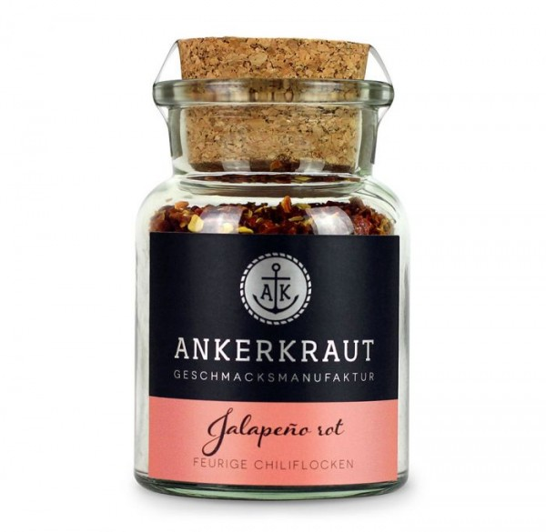 Ankerkraut Jalapeno rot geschrotet