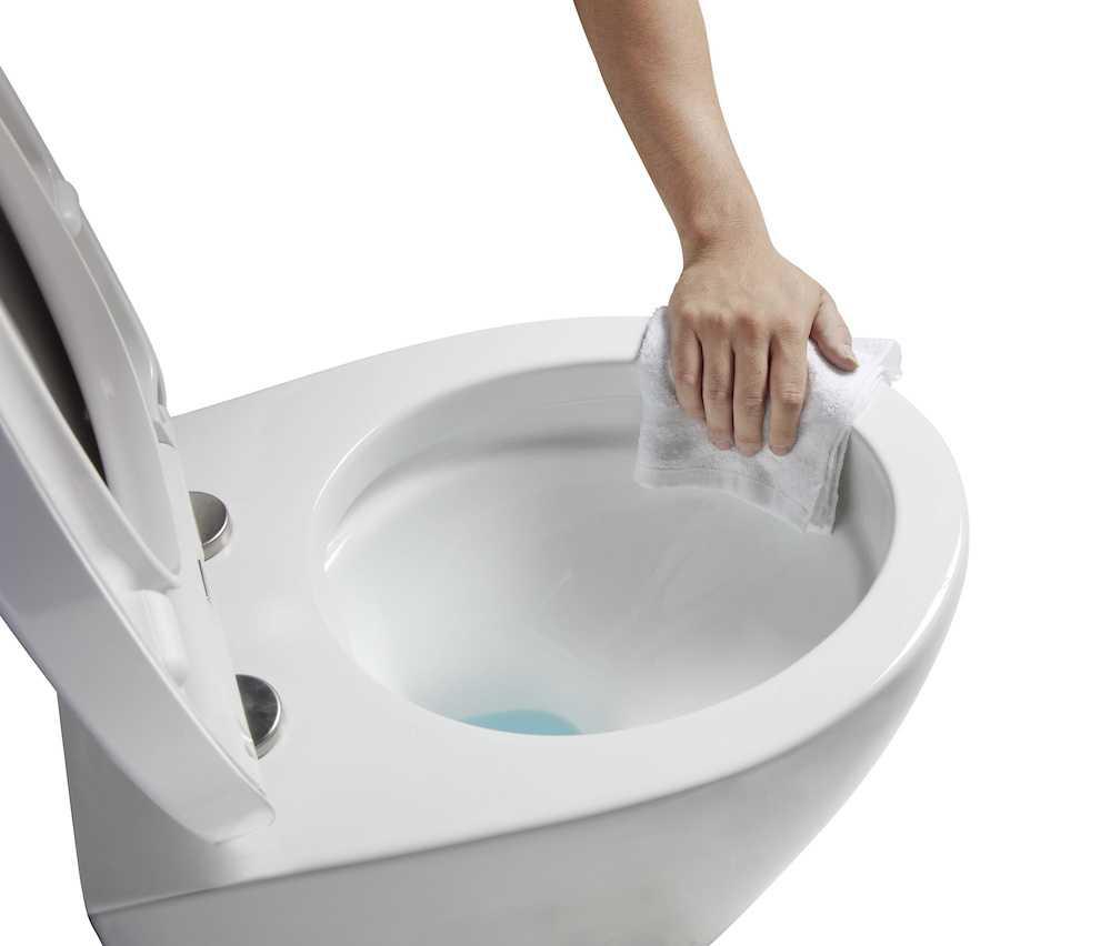 wellwater wand wc set spuelrandlos ia manti schmutz glasur