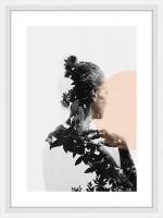 Nielsen Bilderrahmen Linus weiß 13x18cm