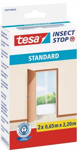 tesa® Insektenschutztür Standard 2x0,65x2,2m weiß