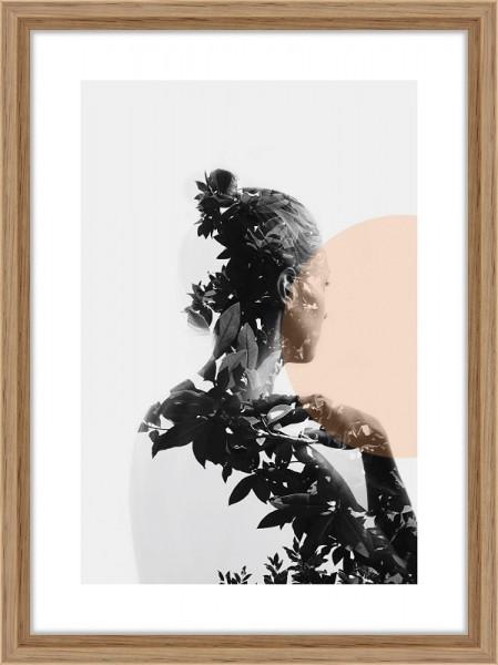 Nielsen Bilderrahmen Linus Eiche 13x18cm