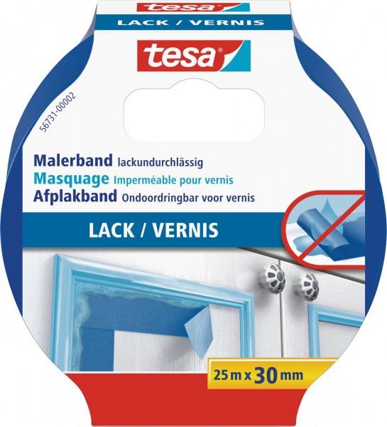Tesa Malerband Lack 25 m x 30 mm