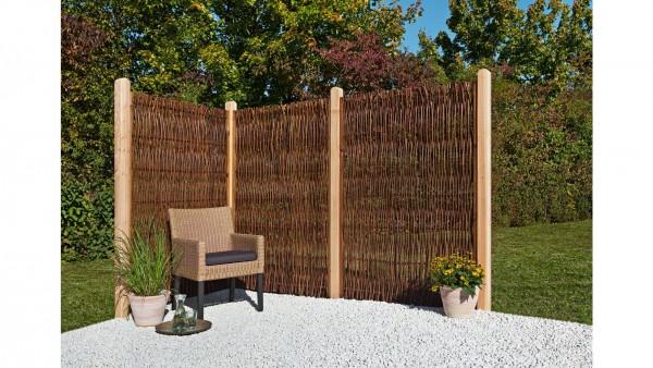 Mr Gardener Weidenzaun seitlicher Rahmen 120x180cm