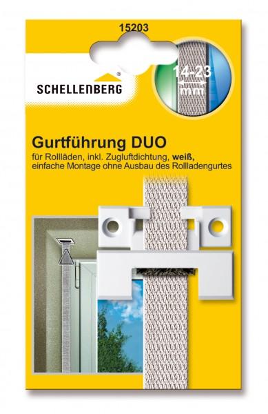 Gurtführung Duo Maxi/Mini eckig weiss