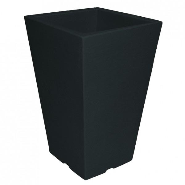 Pflanzvase CAPRI 35x35xH55 cm eckig