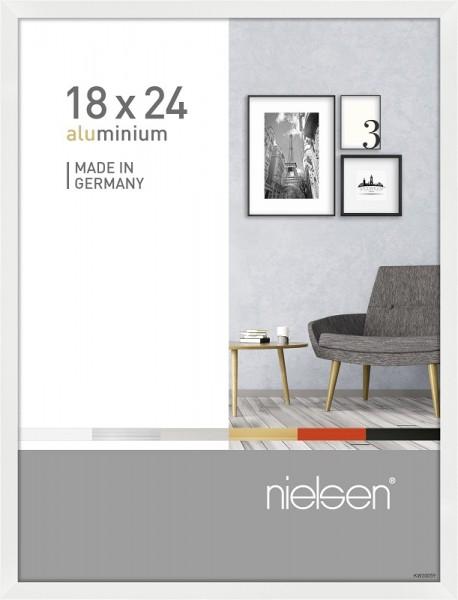 Nielsen Bilderrahmen Pixel weiß 18x24cm