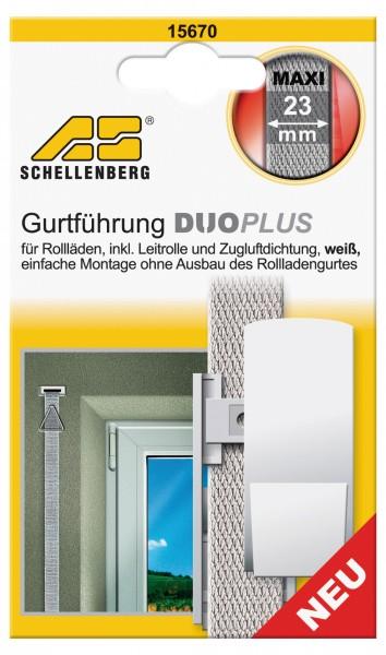 Gurtführung Duo Plus Maxi Leitrolle + Zugluftdichtung