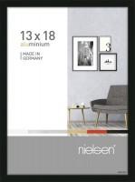 Nielsen Bilderrahmen Pixel schwarz 13x18cm