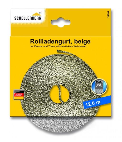 Gurtband 23 mm/12,0 m Maxi beige