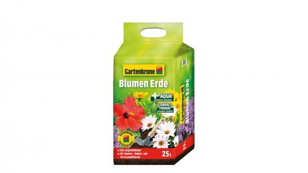 Gartenkrone Blumenerde Kompakt 25l