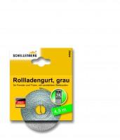 Gurtband 14 mm/4,5 m Mini grau