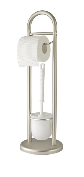 STAND WC-GARNITUR SIENA D. 19 X 63 CM, SATINIERT