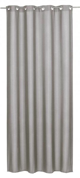 Elbersdrucke Ösenschal Lino taupe 140x255cm