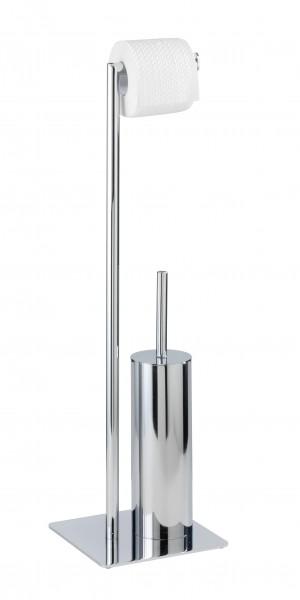 Recco Stand WC-Garnitur 20x20x71,5 cm chrom