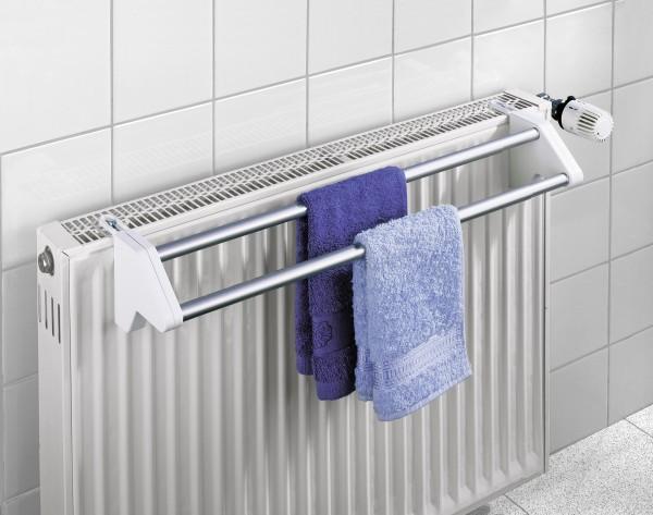 Heizkörper-Wäschtrockner Twin Aluminium