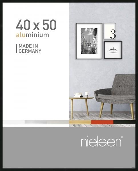 Nielsen Bilderrahmen Pixel schwarz 40x50cm