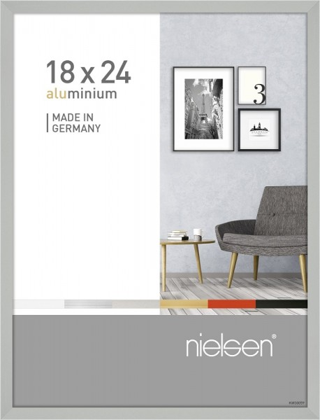 Nielsen Bilderrahmen Pixel silber 18x24cm