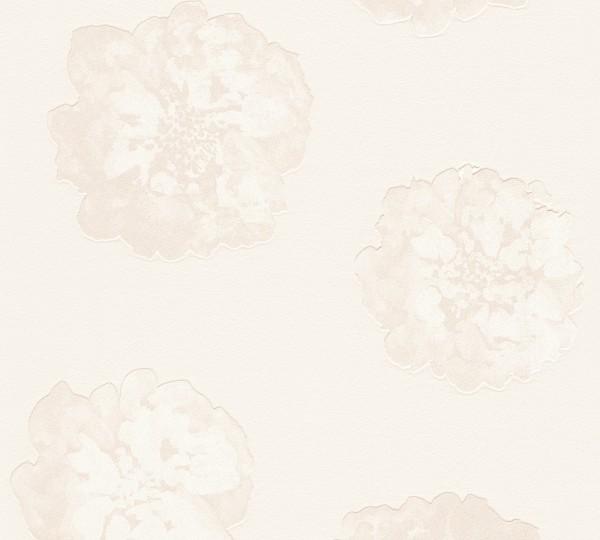 Schöner Wohnen Tapete Blume creme Kollektion 9