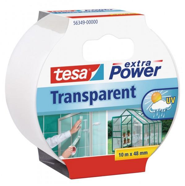 Tesa Extra Power transparent 10 m x 48 mm transparent