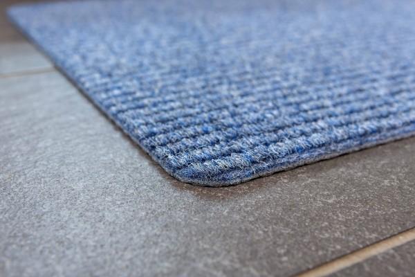 Fußmatte Rib Line Sprint von Golze in blau 50x80cm