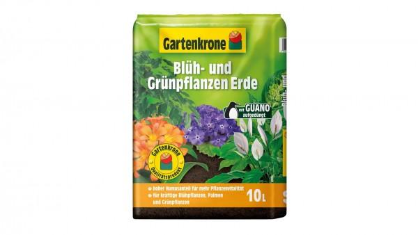 Gartenkrone Blüh- und Grünpflanzenerde 10l